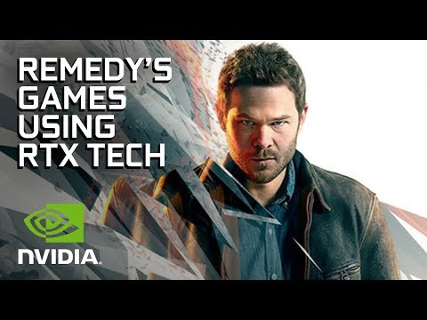 Remedy Entertainment - Insane, Next-Gen Visuals With NVIDIA RTX