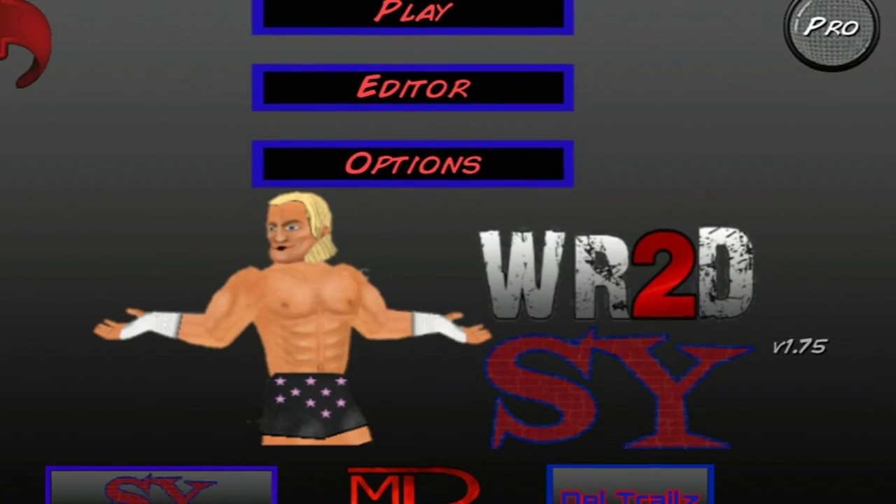 WR2D WWE 2K18 MOD V1 BY TEAM SY