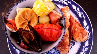 5 MINUTE SOUTHERN SEAFOOD BOIL RECIPE
