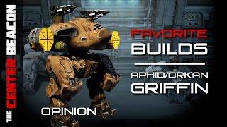 War Robots   TCB Favorite Builds - Aphid/Orkan Griffin