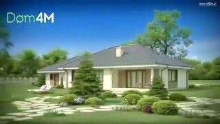 4M400 Проект одноэтажного дома для узкого участка 160м кв(, 2015-12-23T23:19:39.000Z)