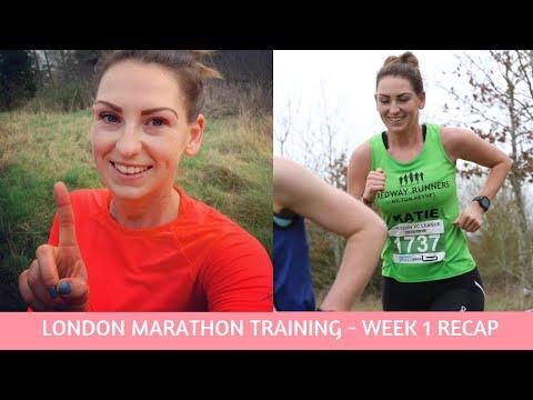 London Marathon Training 2019 - Week 1