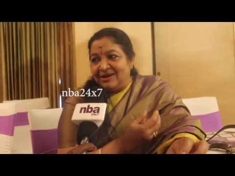 Singer Chitra on K. J. Yesudas 8th National Award  nba 24x7