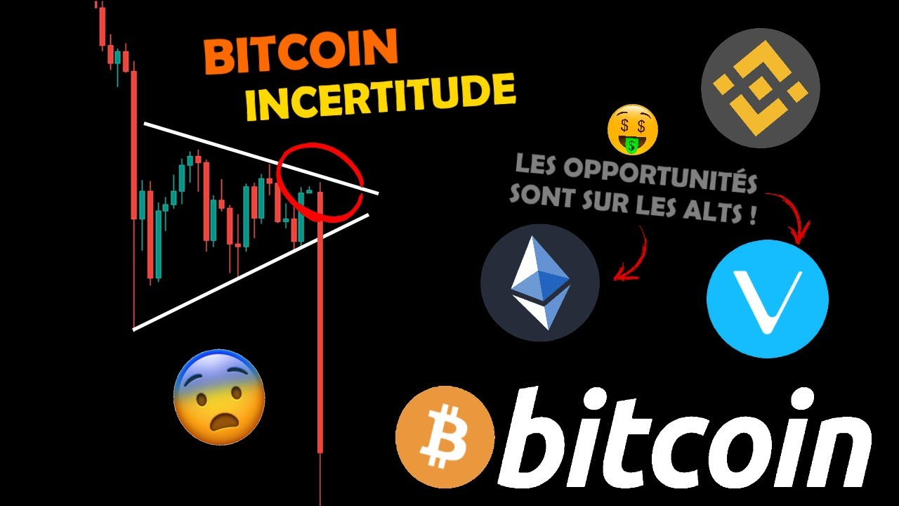 BITCOIN 🤔 CONSOLIDE / ETHEREUM 🚀 REPART / BNB / VET 🤑 OPPORTUNITÉ analyse crypto monnaie fr