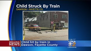 Child Struck By Train In Fayette Co., Flown To Hospital