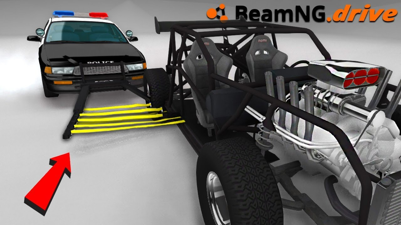 Download POLICE CAR GRABBER - BeamNG.drive