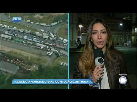 Caminhoneiros continuam protestos nas principais cidades do Brasil