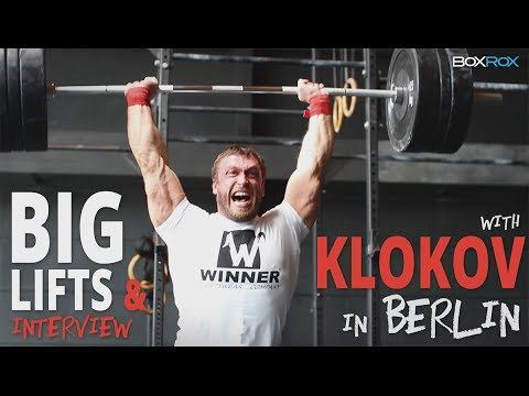 BOXROX: Klokov big lifts & interview