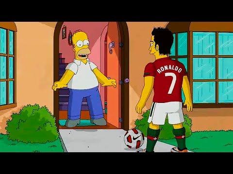 THE SIMPSONS PREDICT THE FINAL OF THE WORLD CUP RUSSIA 2018