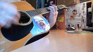 """KESHA """" Die Young """" Cover On Acoustic Guitar with Chords / avec Accords"""