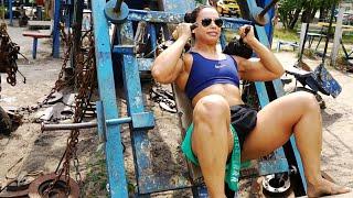 BEST outdoor GYM | Fitness & Gym Motivation 2020