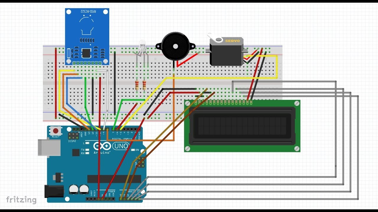Rfid based automatic door lock system arduino and