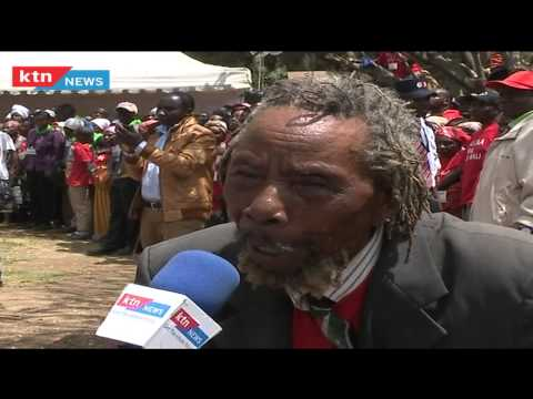 Mau Mau war veterans witness the unveiling of historic monument