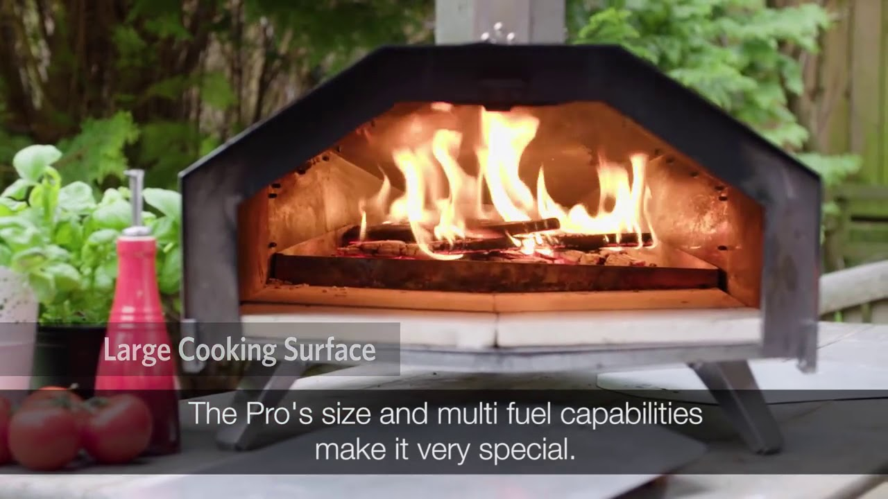 UUNI Pro Outdoor Oven Wood Pellet Charcoal Stainless Steel Pizza Meat Fish Bread