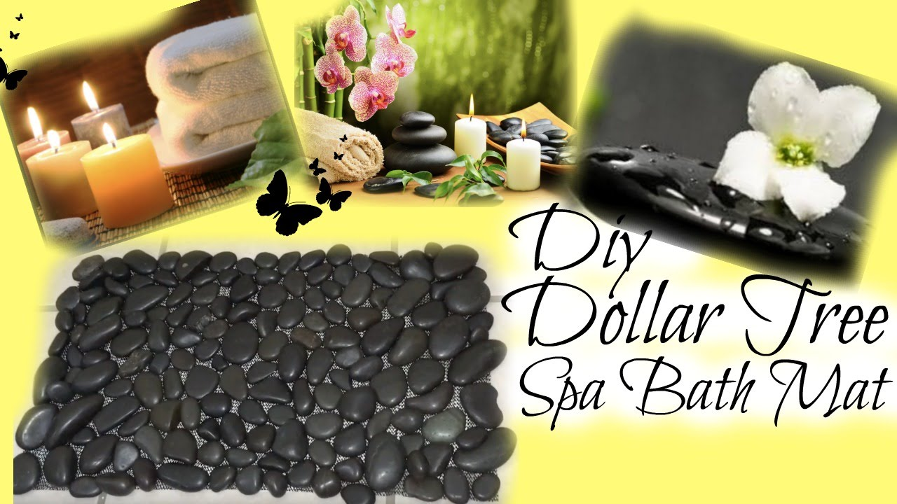 Diy Dollar Tree Spa Bath Mat Youtube