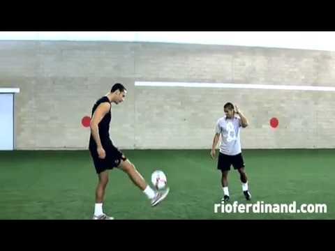 Cristiano Ronaldo vs Rio Ferdinand!!!!