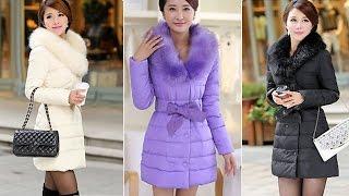 Женское пальто. пуховик. Women's European Fashion Square Sollar Cotton Warm Loose Long Coat