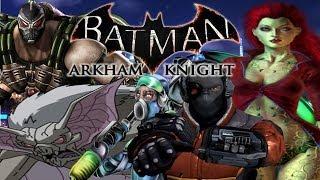 Batman: Arkham Knight   5 New Villains Mentioned On IMDB