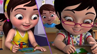 The New Girl In School | Kids Moral Stories Collection | Infobells