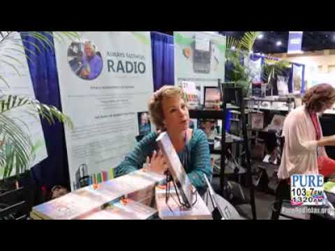 Pure Radio Jax interview of Dr. Michelle Bengtson at NRB National Religous Broadcasters