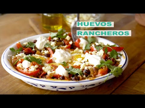 Brunch Life | Huevos Rancheros |  Delicious Vegetarian Brunch Recipe | Fidel Gastros