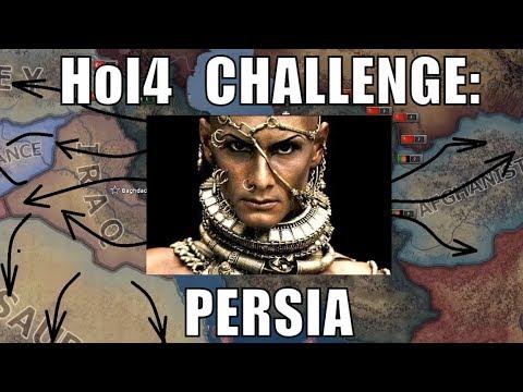 Hearts of Iron 4 Challenge:  Restoring Persia