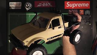 WPL C-14 1/16 4WD RC Hilux Truggy KIT Version