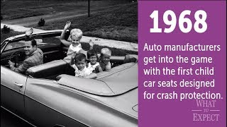 100 Years of Car Seat History in (About) 60 Seconds