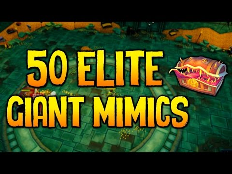 Runescape - Loot From 50 Elite Giant Mimic Kills!