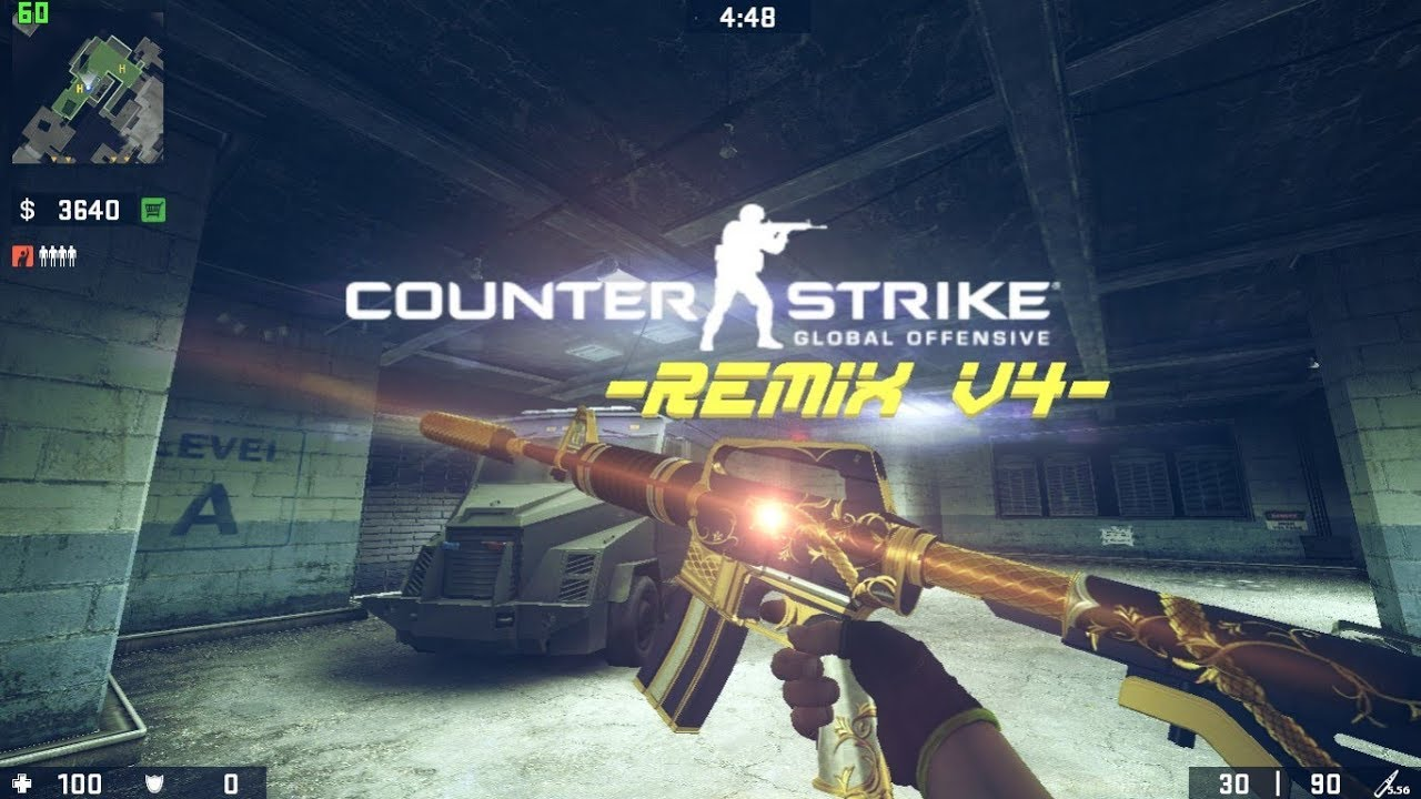 CSGO - ReMiX_v4 (MOD UPDATE) FOR CSS | Gameplay Review & Download {#Best  CSGO MOD FOR CSS}