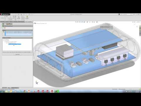 SOLIDWORKS Flow Simulation - Keeping Electronics Cool