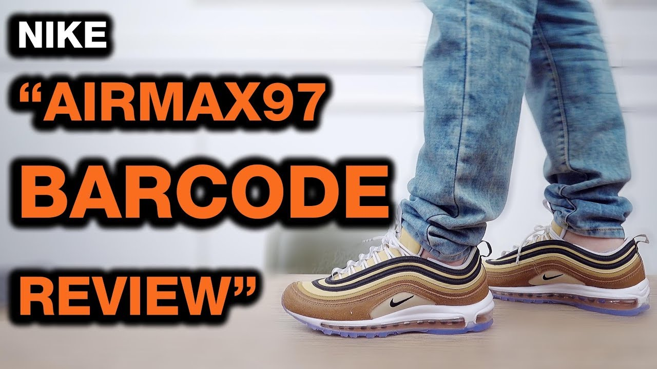 Download 4k Nike Air Max 97 Barcode Cardboard 921826 201 Mp3