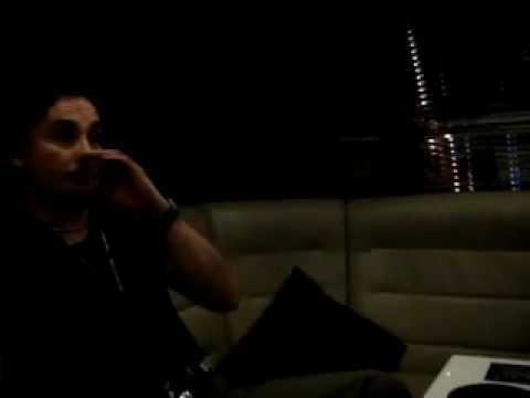 Interview With Dani Filth 07.12.2008 Bologna Palanord