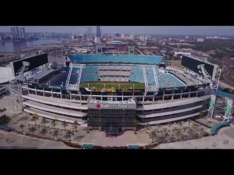 Downtown Jacksonville, FL 4K Drone Footage   DJI Mavic Pro