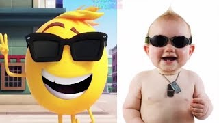 The Emoji Movie Characters In Real Life 2018