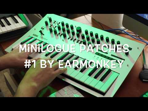 Korg Minilogue Free Patch Bank Part 1 by Earmonkey - Intergalactic