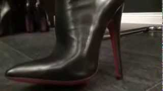 Repeat youtube video leather fantasy #1 (part 1) - fetish diva nadja