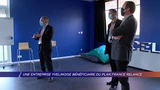 Yvelines | Une entreprise yvelinoise bénéficiaire du plan France Relance
