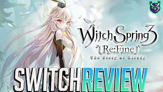 Witch Spring 3 Re:Fine Nintendo Switch Review - Atelier-like JRPG! (Video Game Video Review)