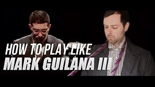 Play Like Mark Guiliana 3 - The Lick - The 80/20 Drummer