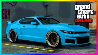 GTA Online NEW DLC Content Released - Overflod Tyrant Super Car, Vapid Dominator GTX & MORE! (GTA 5)