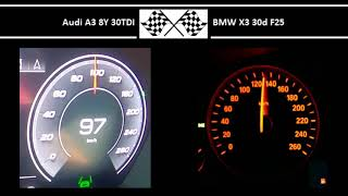 Audi A3 8Y 30TDI VS. BMW X3 30…