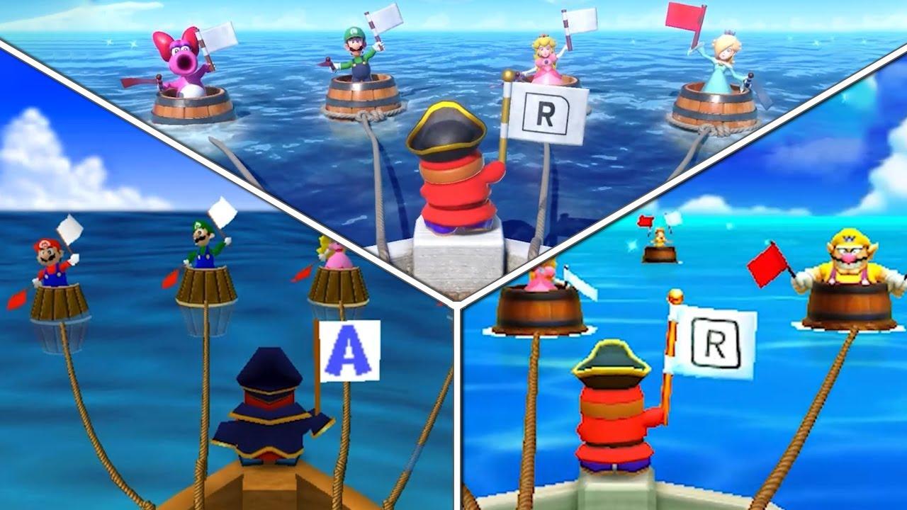 62 Minigame Comparison (Original vs. Two Remakes) - Mario Party Superstars