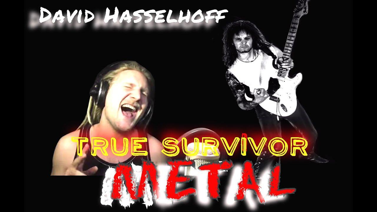 David Hasselhoff - True Survivor - Metal Cover Video - YouTube