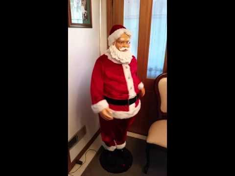 Singing, Dancing, Karaoke Santa