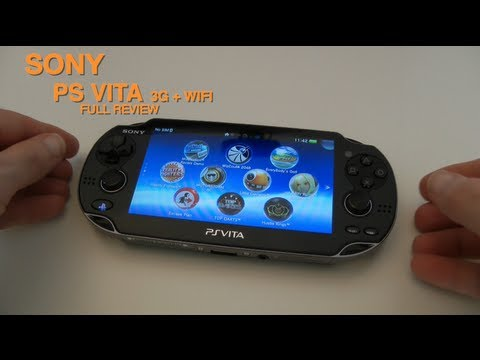 Sony PS Vita 3G + WiFi Full Review