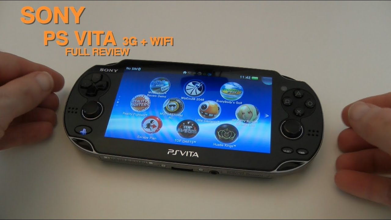 Sony Ps Vita 3g Wifi Full Review Youtube