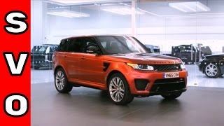 Jaguar Land Rover Special Vehicle Operations SVO