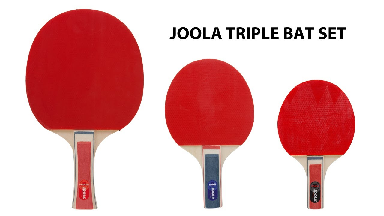 JOOLA Triple Bat Table Tennis Set - YouTube