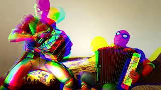 DEADPOOL И SPIDER MAN играют НА ГАРМОШКЕ /БЕЗОБИДНЫЙ ПРАНК / гармонисты / музыка / творчество marvel